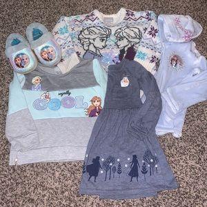 Frozen Anna & Elsa Girls Bundle SZ.3T
